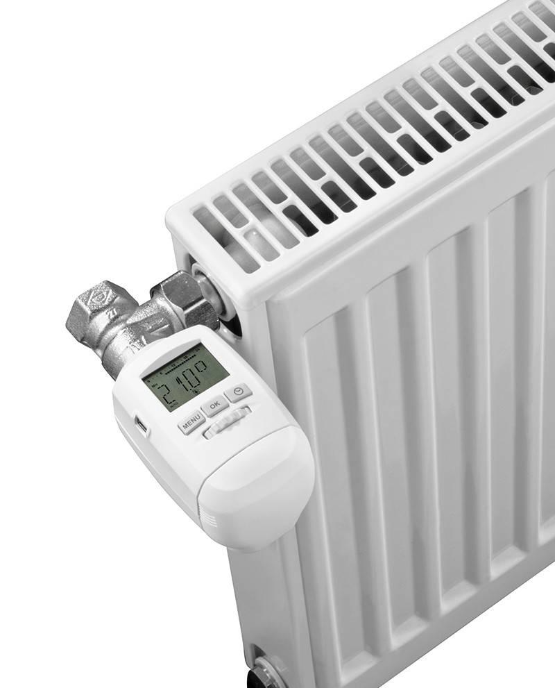 Как установить терморегулятор на батарею отопления