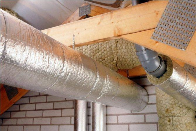 Как утеплить дымоходную трубу
