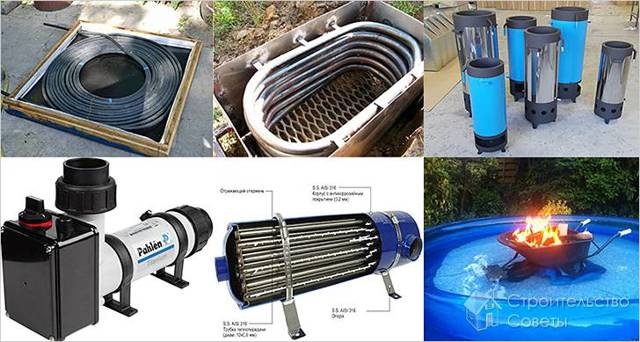 Отопление бассейна своими руками - отопительные приборы для обогрева бассейна   стройсоветы