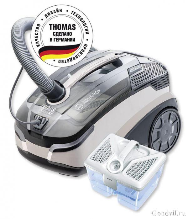 Моющие пылесосы thomas: рейтинг топ-10 лучших моделей немецкой марки