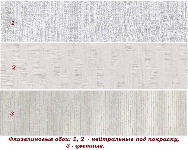 Какие обои лучше виниловые, флизелиновые или бумажные: чем отличаются?