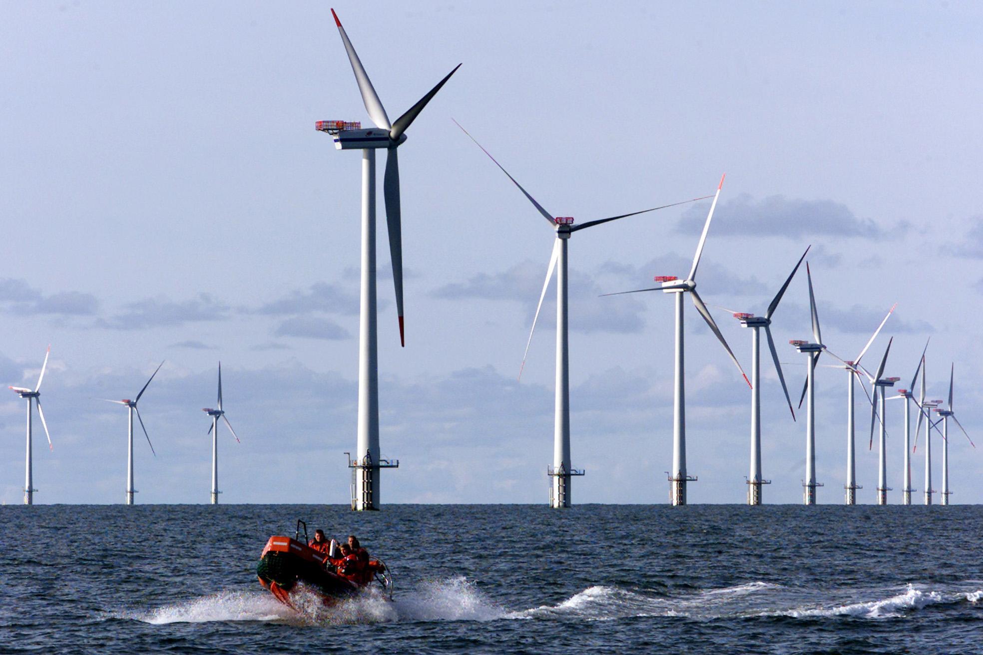 Ветряные электростанции в германии. цифры и подробности