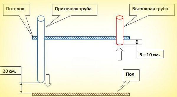 Вентиляция в курятнике своими руками: как сделать? вытяжка, схема