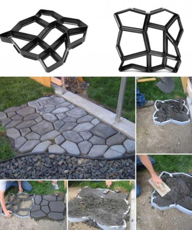 Формы для тротуарной плитки - рекомендации по выбору материала