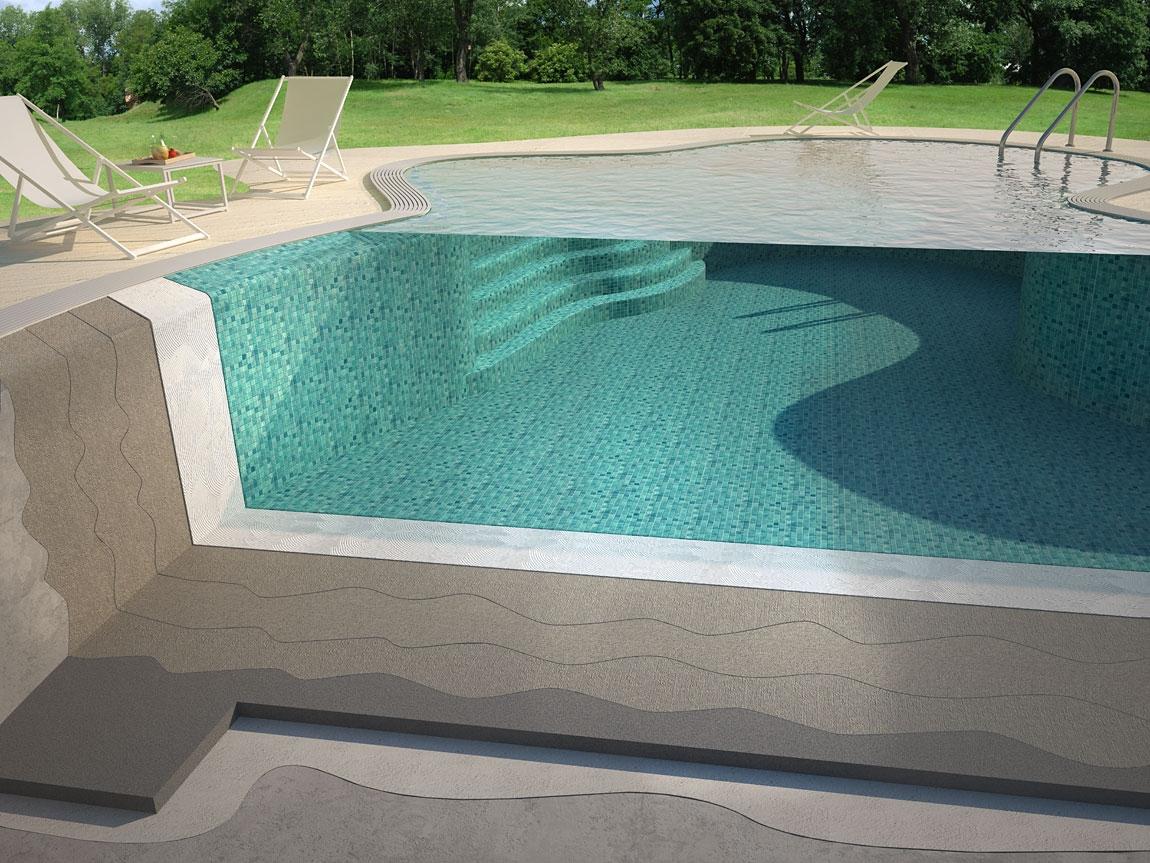 Гидроизоляция бассейна: проникающая и обмазочная, гидроизоляционные смеси, жидкая резина и полимочевина