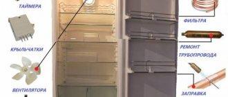 Неисправности двухкамерного холодильника самсунг ноу фрост и других моделей