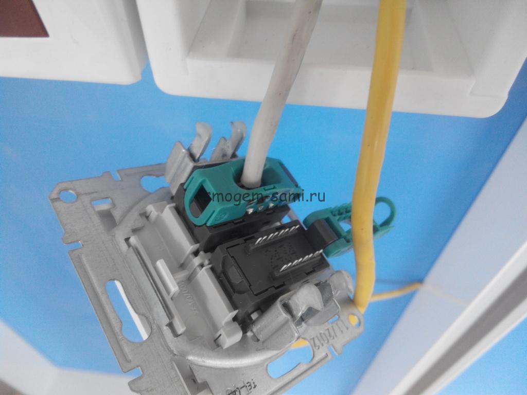 Как подключить розетку для интернета и телефона: схема и устройство, инструкция с фото и видео