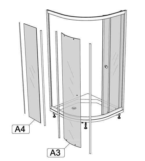Обзор стекол для душевой кабины: разновидности и особенности