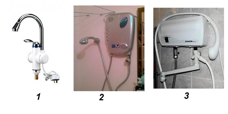 Как установить проточный водонагреватель в ванной / zonavannoi.ru