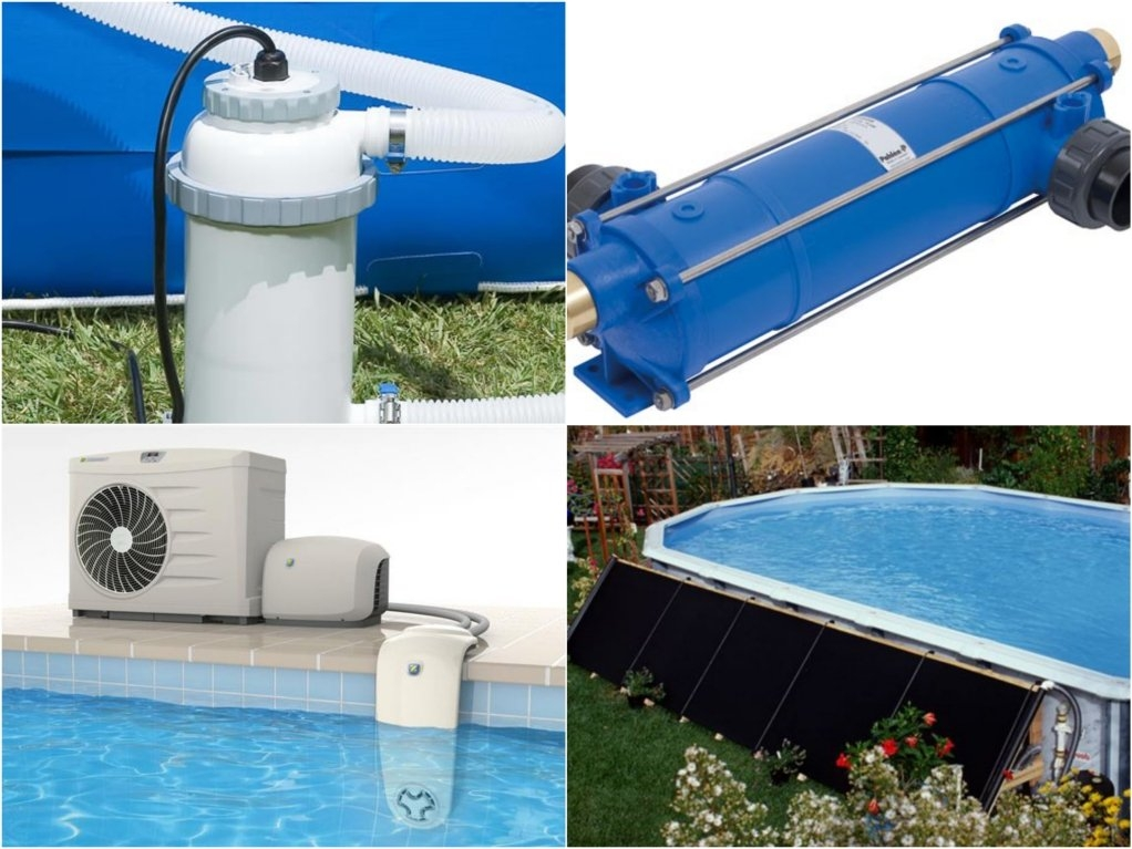 Как подогреть бассейн на даче — 8 способов нагреть воду в бассейне на даче