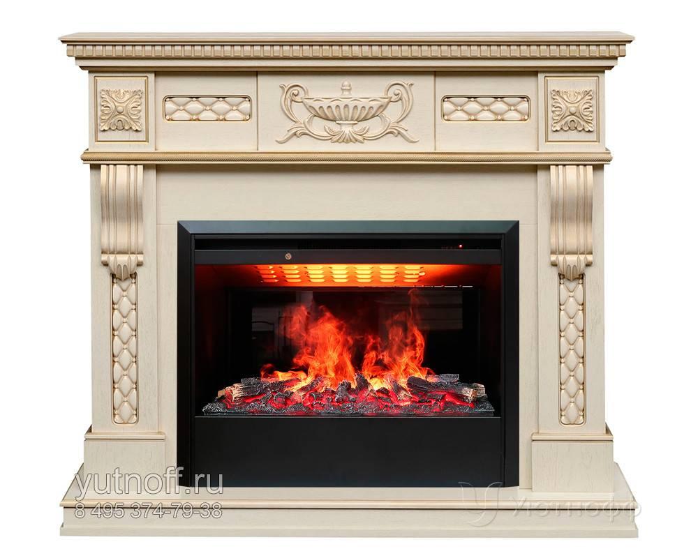 Электрокамины с эффектом живого огня: изящное украшение дома
