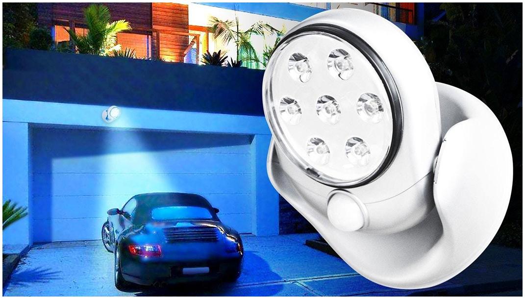 Прожекторы с датчиком движения: светодиодные фонари для улицы, особенности светильников на солнечных батареях