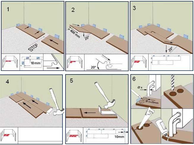 Как правильно класть ламинат - вдоль или поперек? ищите ответ здесь!