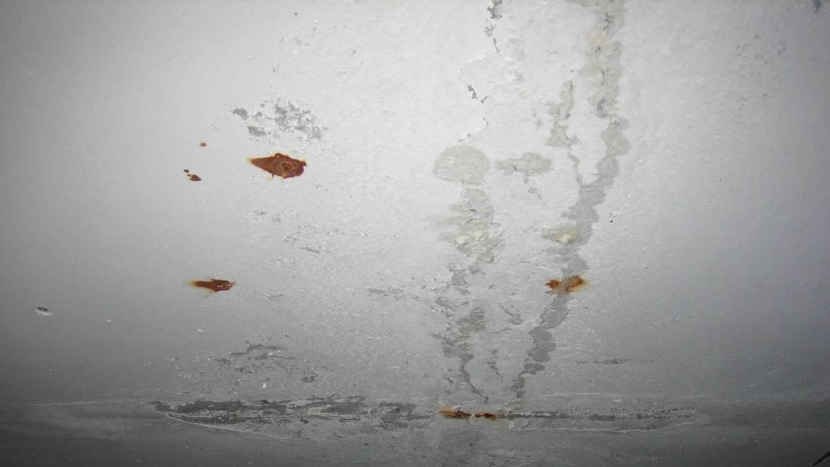 Как убрать подтеки на потолке: пошаговая инструкция, 20 лучших методов и средств