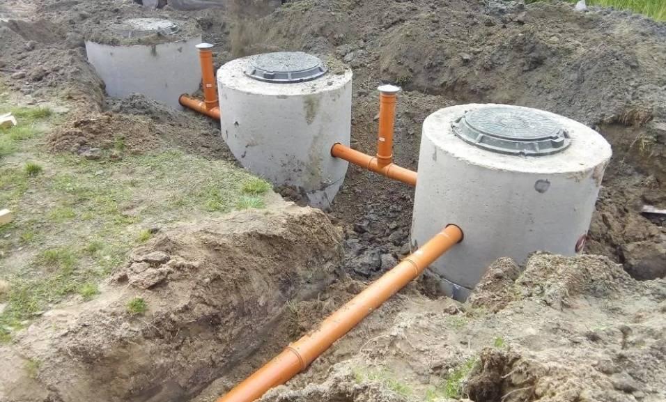 Монтаж и установка канализационных колодцев: как сделать своими руками - точка j