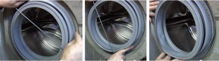 Манжета для стиральной машины: предназначение, разновидности, самостоятельная замена