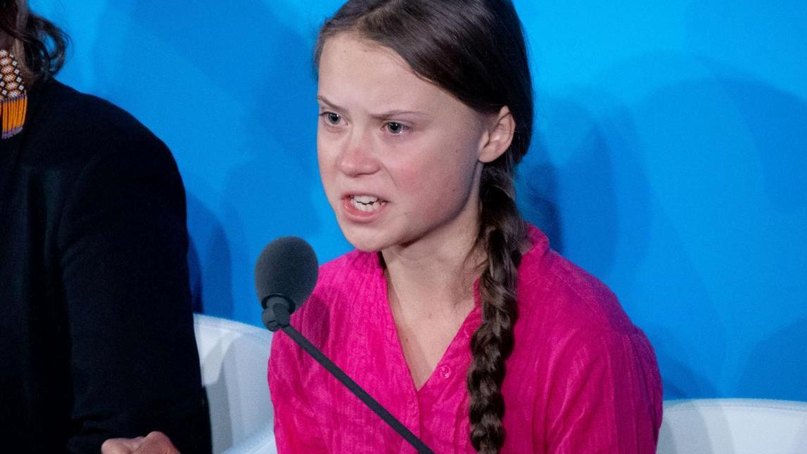 Грета тунберг - выступление в оон на климатическом саммите, речь с русским переводом