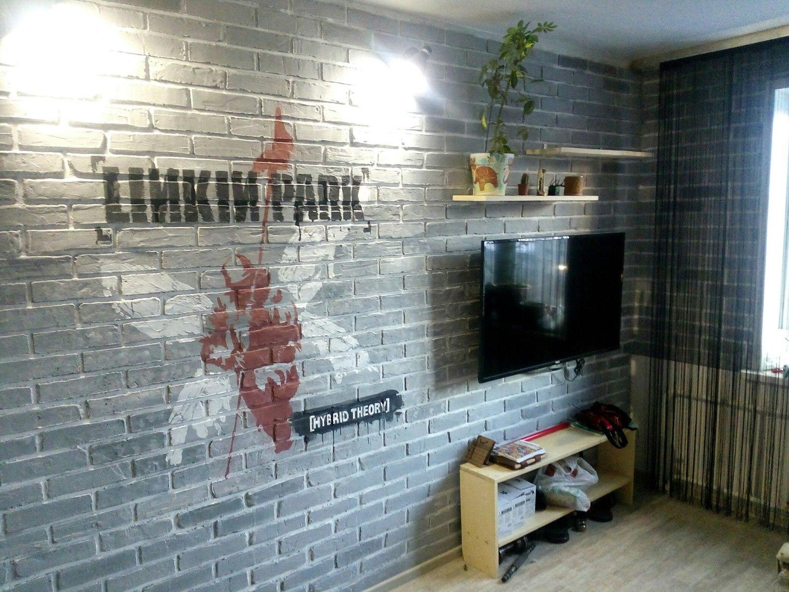 Как сделать декоративную штукатурку под кирпич для внутренней отделки стен в интерьере?