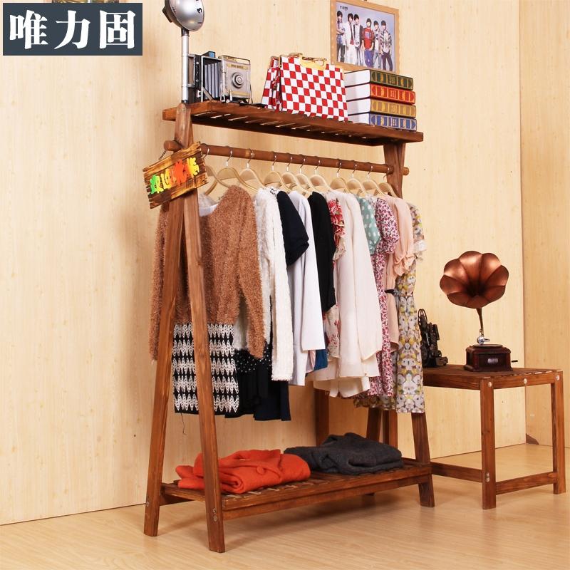 Напольная вешалка для одежды из дерева своими руками