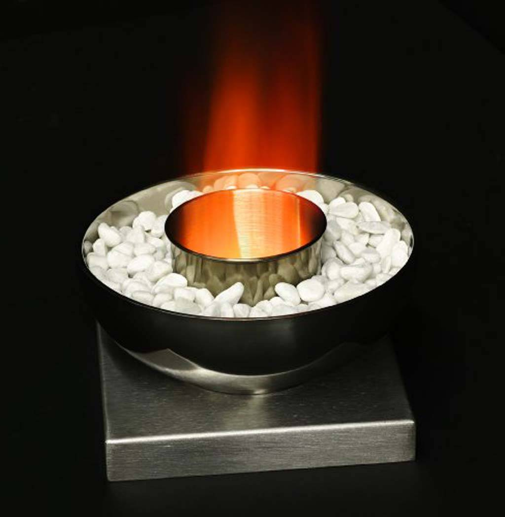 Камин на биотопливе - устройство биокаминов на примерах