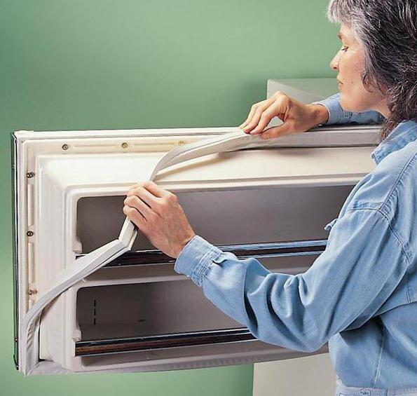 Замена или ремонт уплотнителя в двери холодильника своими руками