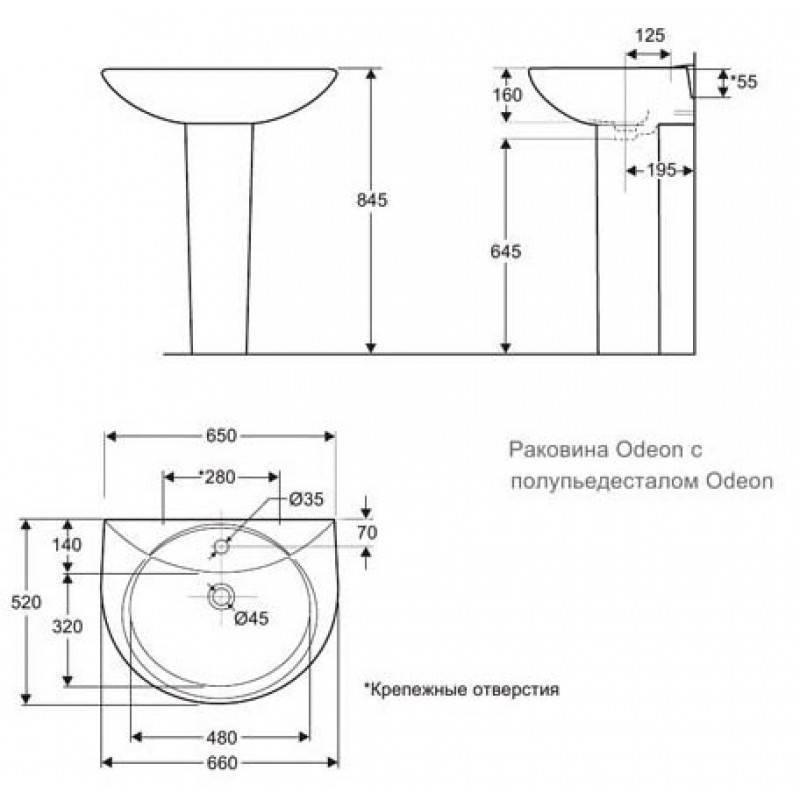 Как установить раковину тюльпан: инструктаж от специалистов