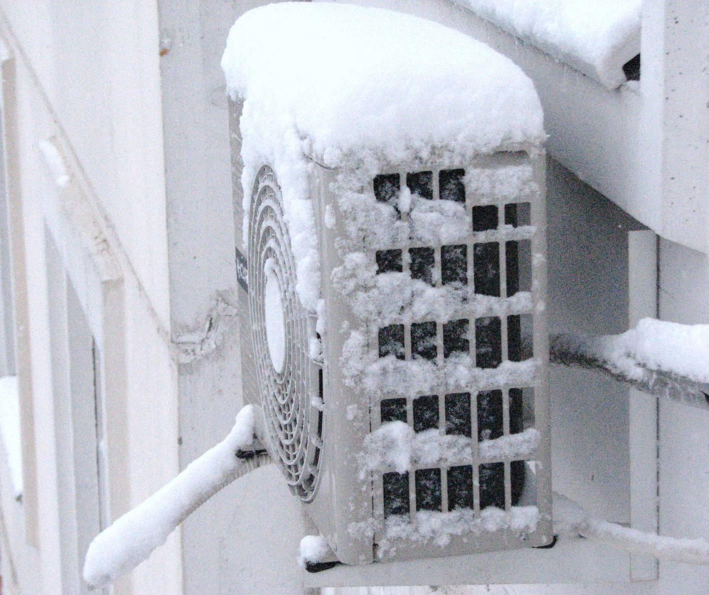 Почему нельзя включать кондиционер зимой (при минусовой температуре)
