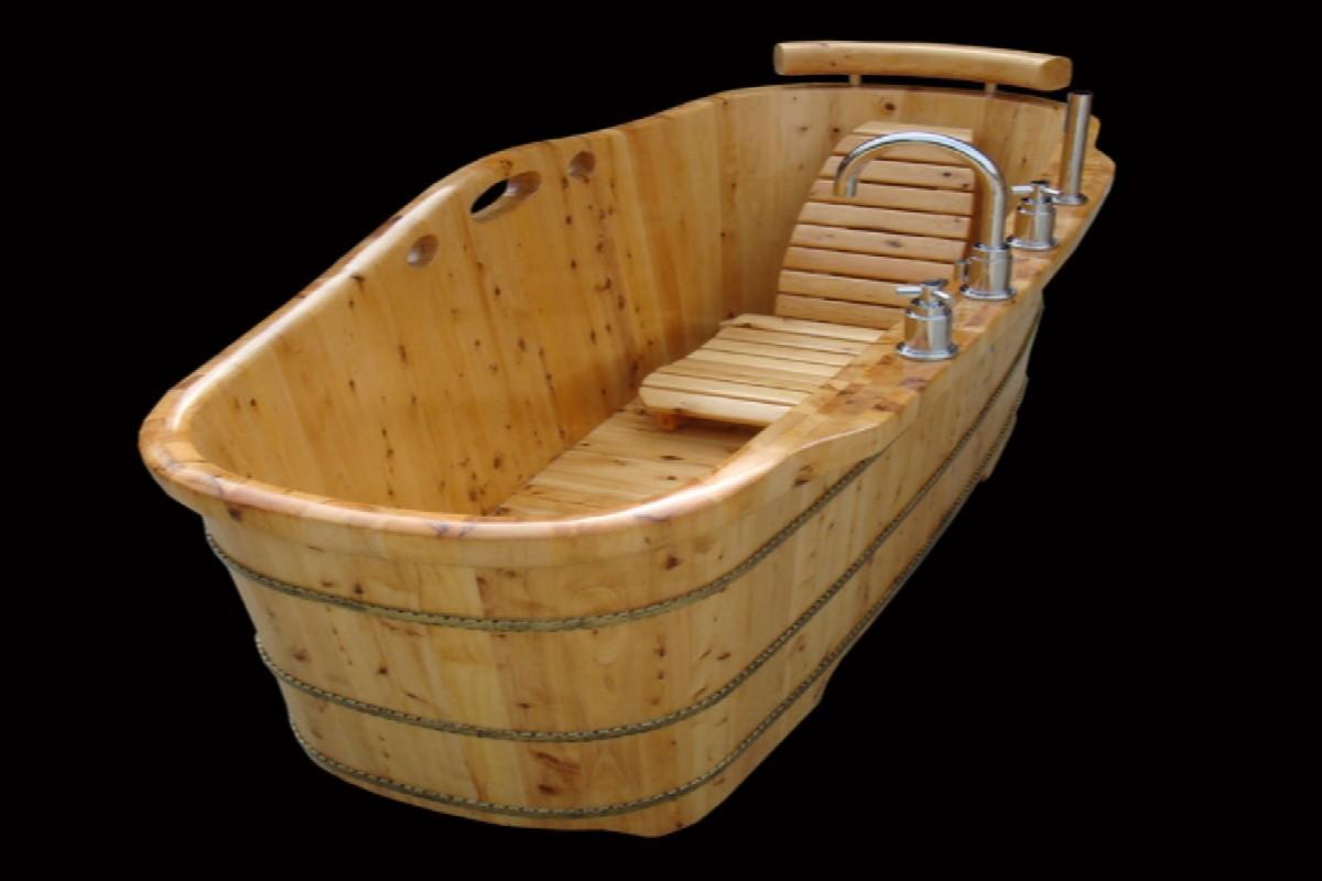Ванна из дерева: устройство, виды, параметры, инструктаж по самостоятельному изготовлению