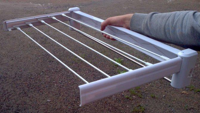 Лиана на балкон для сушки: выбор, сборка и установка сушилки