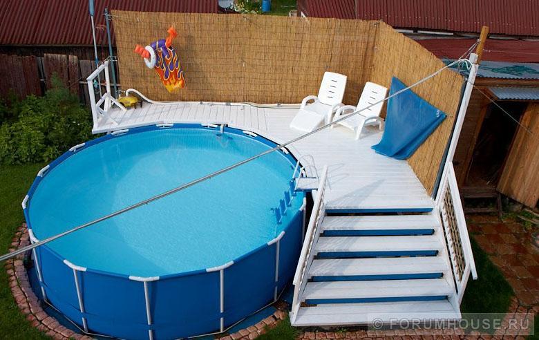 Готовим бассейн к зимовке в 10 этапов