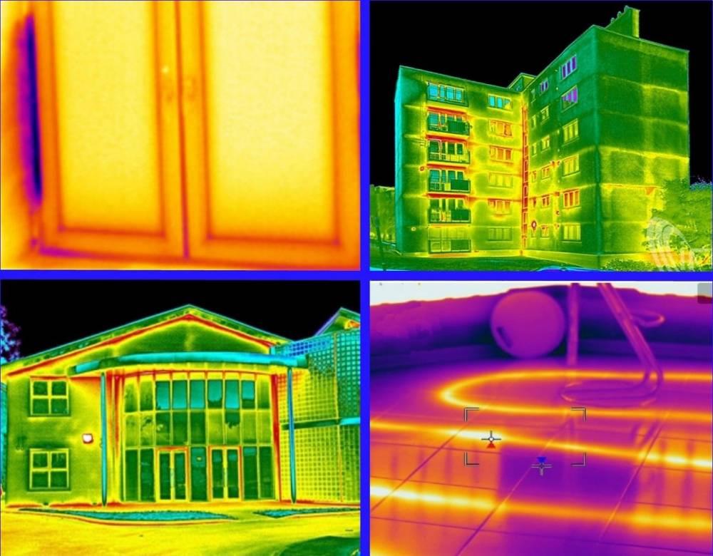 Как проверить свою квартиру или дом на утечки тепла с помощью тепловизора - определение теплопотерь