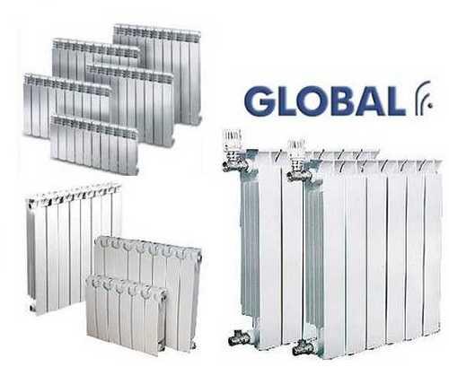 Радиаторы global: биметаллические и алюминиевые батареи, модели style plus, extra 500