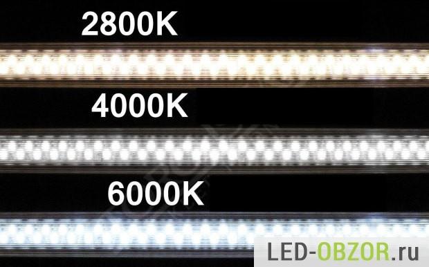 Как заменить в светильниках люминесцентные лампы на светодиодные