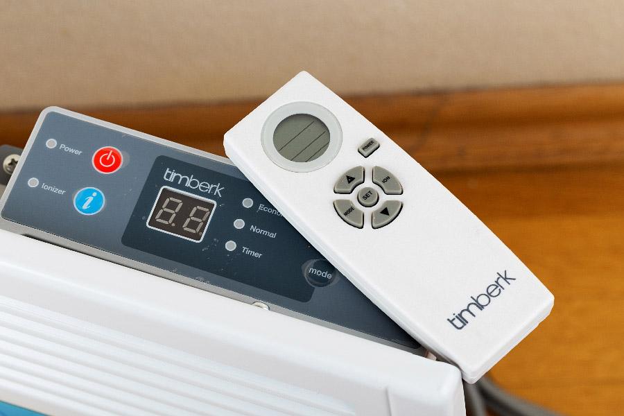 Электрический конвектор с электронным термостатом (терморегулятором)