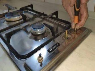 Покраска газовой плиты своими руками