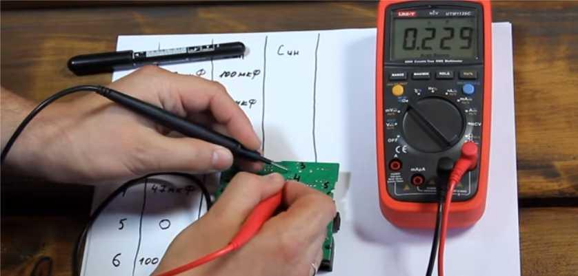 Как проверить конденсатор мультиметром - подробная инструкция