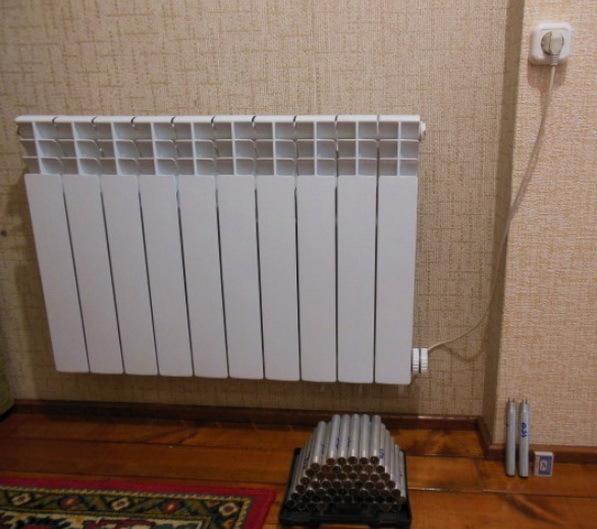 Тэны для радиаторов отопления: как применяются и как выбрать
