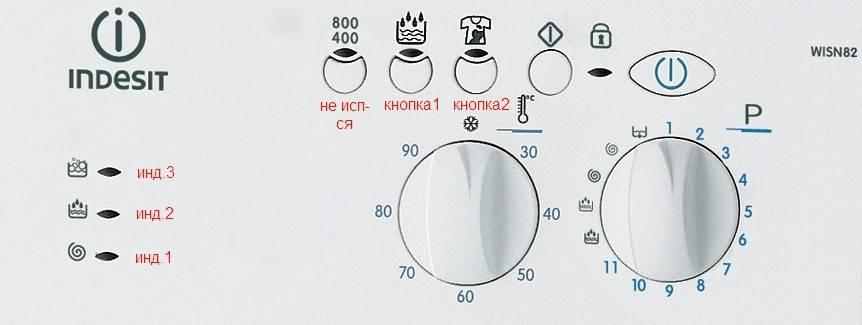 Коды ошибок стиральных машин indesit: расшифровка