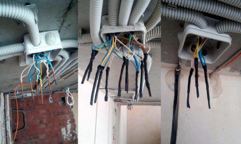 Монтаж электропроводки – 100 фото подготовки и установки системы энергоснабжения