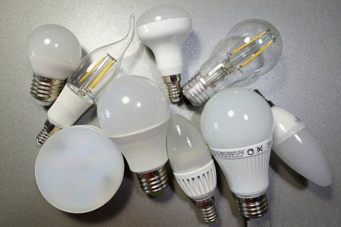Какие бывают лампочки для дома: разновидности + нюансы выбора лучшей