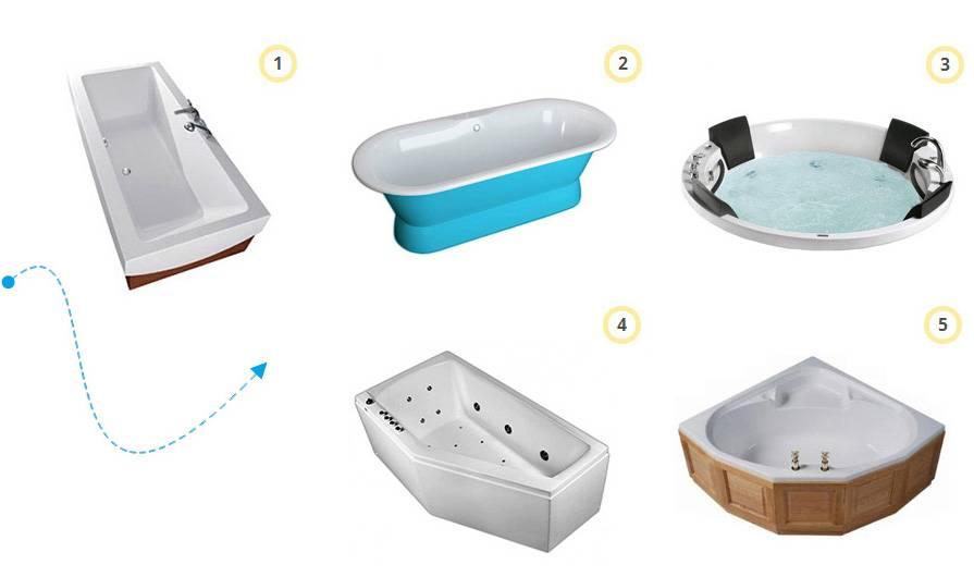 Как выбрать акриловую ванну и какую лучше по отзывам
