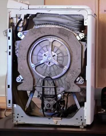 Как заменить ремень на барабане стиральной машины