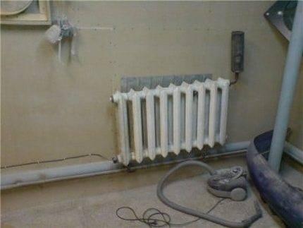 Как врезать тэн в систему отопления?
