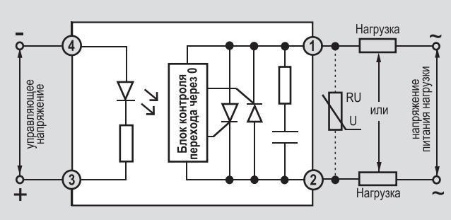 Твердотельное реле переменного и постоянного тока - принцип работы – самэлектрик.ру