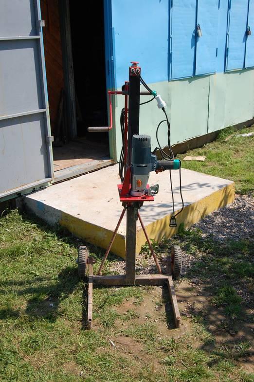 Буровая установка своими руками: собираем по инструкции агрегат для бурения скважин