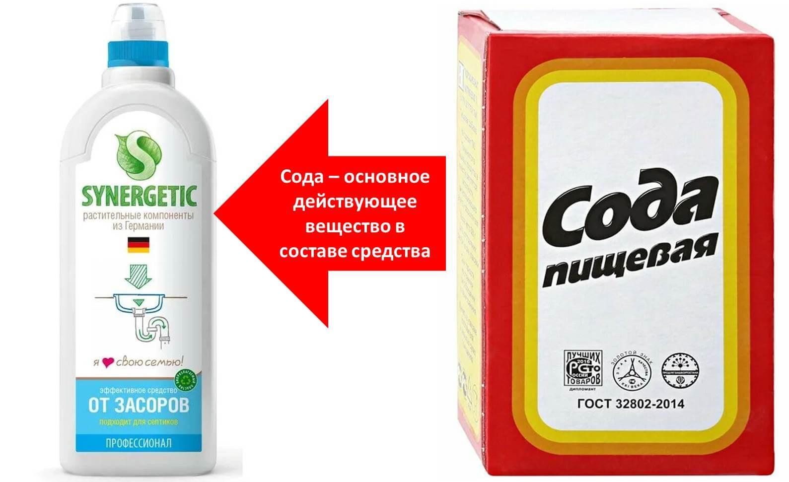 Эффективное средство для прочистки засора в канализации, ингредиенты которого есть на каждой кухне