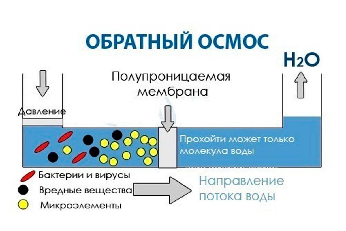 Обратный осмос - принцип работы и назначение