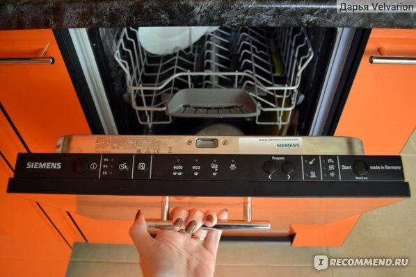 Обзор посудомоечной машины Siemens SR64E003RU: качество, проверенное временем