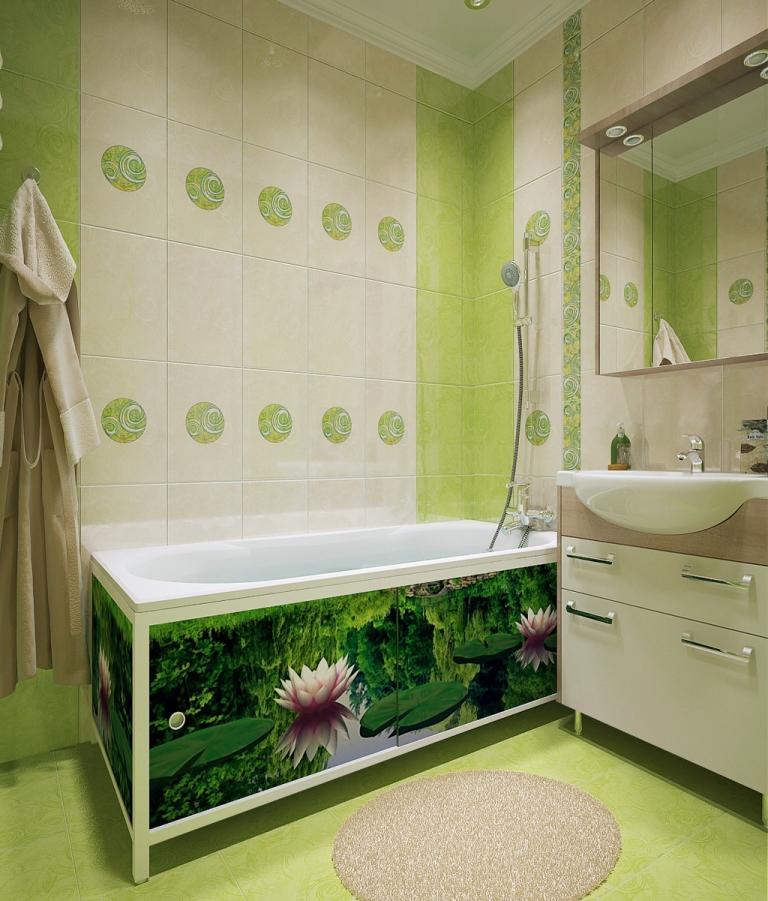 Как сделать зеркальный экран под ванну: пошаговая инструкция