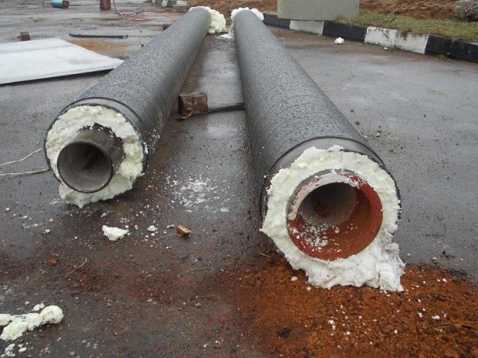 Утеплитель для труб водопровода: выбор и способы укладки теплоизоляции водопроводных труб